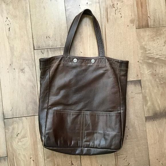 Calma Chicha Leather Bag Brown 3b7562ca9f485